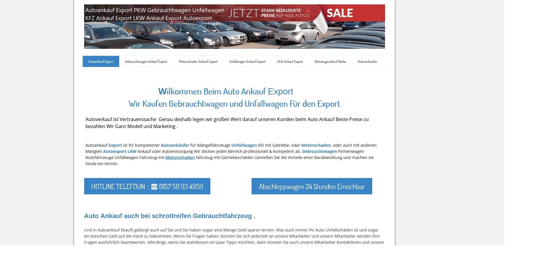 https://www.kfz-ankauf-export.de - Autoankauf Nordhorn